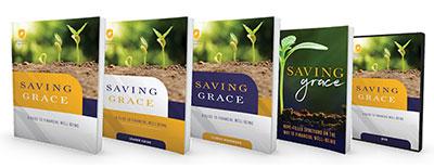 photo of the Saving Grace books