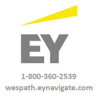 EY navigate logo and web address