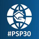 PSP 30 Years logo