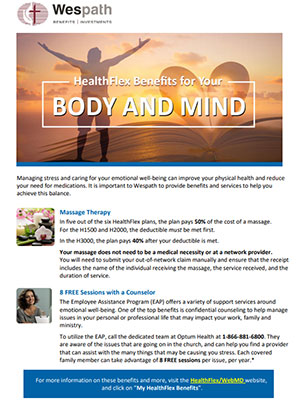 Body and Mind resources image